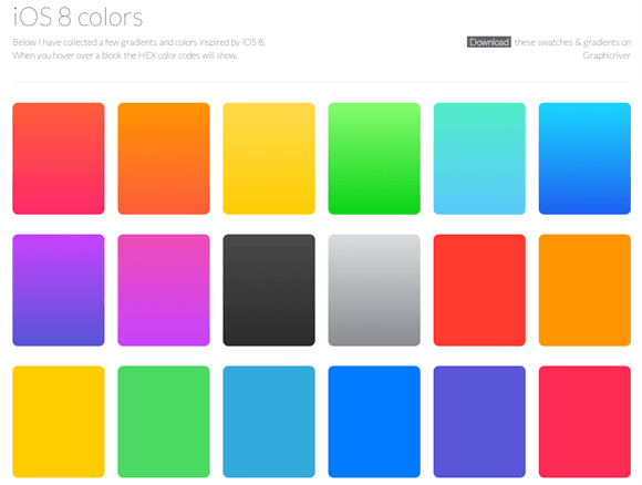 iOS8Colorsの画像